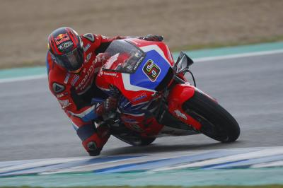 Bradl back to work early at Jerez
