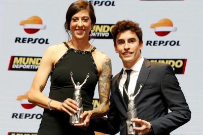 Marc Marquez, eletto sportivo dell'anno dal Mundo Deportivo