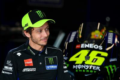 """My goal is to continue my career as a MotoGP rider"" - Rossi"