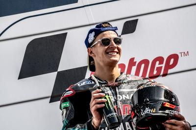 Quartararo joins Viñales at factory Yamaha for 2021-2022