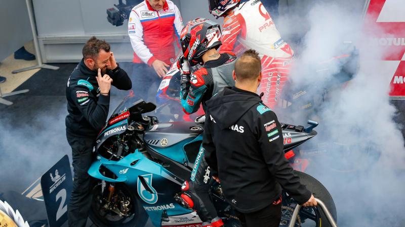 Quartararo Joins Vinales At Factory Yamaha For 2021 2022 Motogp