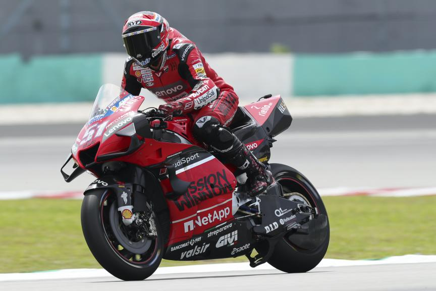 Michel Pirro, Ducati Team, Sepang shakedown MotoGP™ Test