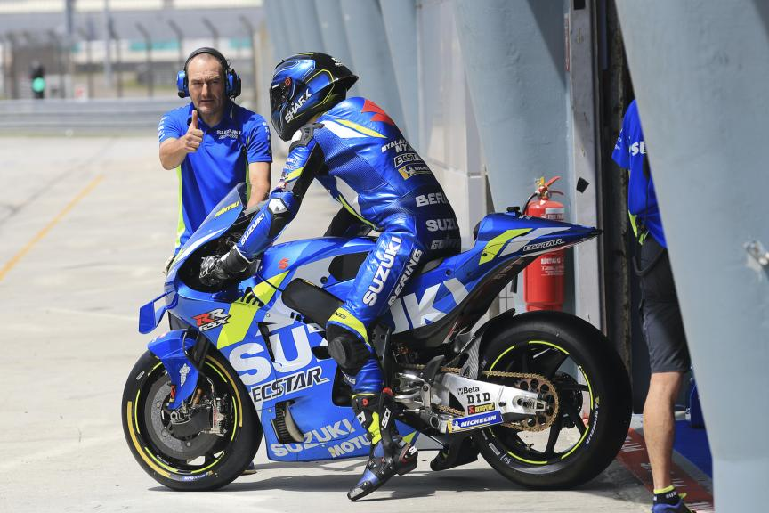 Sylvain Guintoli, Suzuki Test Team, Sepang shakedown MotoGP™ Test