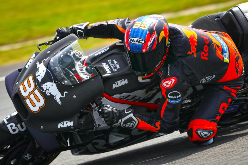 Brad Binder, Red Bull KTM Factory Racing, Sepang shakedown MotoGP™ Test