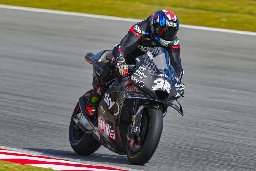 Bradley Smith, Aprilia Factory Racing, Sepang shakedown MotoGP™ Test