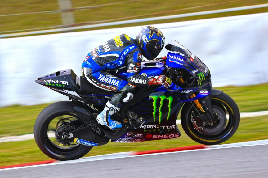 Katsuyuki Nakasuga, Yamaha Test Team, Sepang shakedown MotoGP™ Test