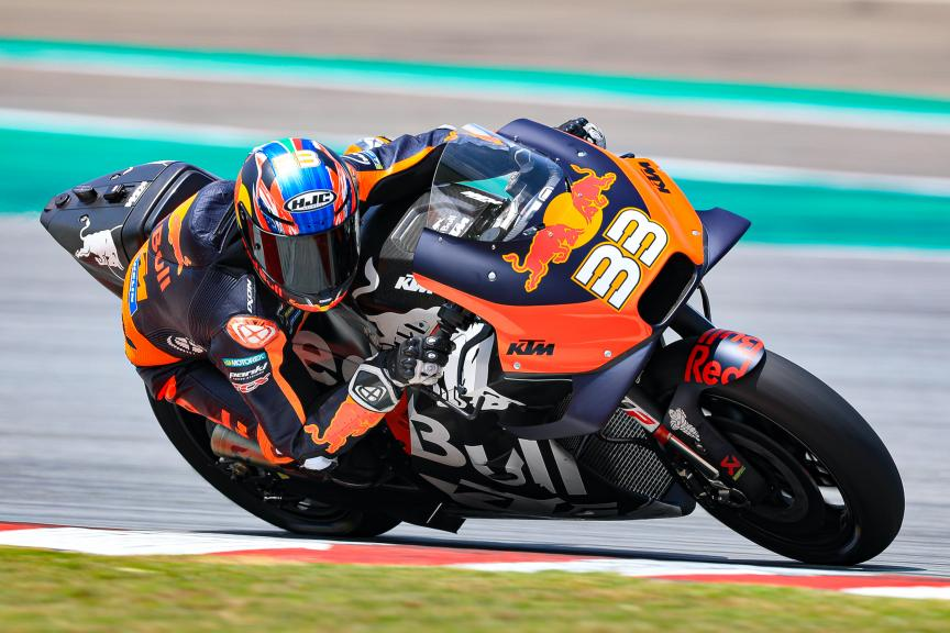 Brad Binder, Red Bull KTM Factory Racing, Sepang shakedown MotoGP™ Test