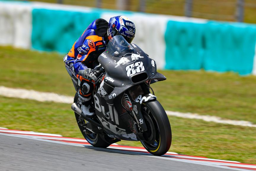 Miguel Oliveira, Red Bull KTM Tech 3, Sepang shakedown MotoGP™ Test