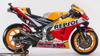 Repsol Honda bike evolution