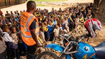 Two Wheels for Life Africa trip