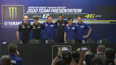 Guarda la conferenza stampa del Monster Energy Yamaha