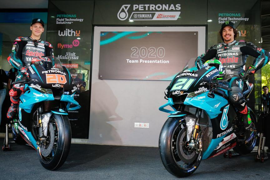 Petronas Yamaha SRT Launch 2020