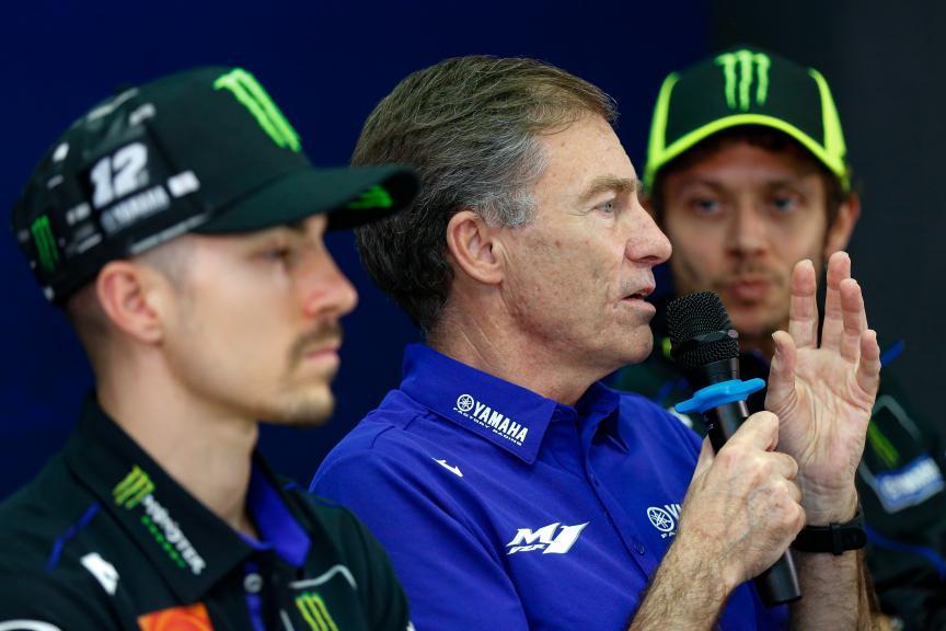 Press-Conference, Monster Energy Yamaha MotoGP