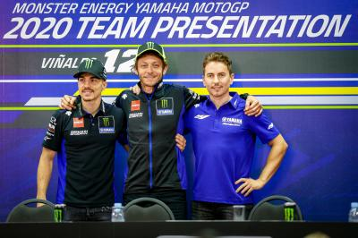 What do Viñales and Rossi think about Lorenzo in Yamaha?