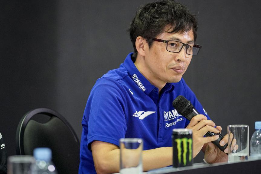 Takahiro Sumi, Monster Energy Yamaha MotoGP Launch 2020
