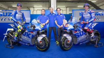 Team Suzuki Ecstar 2020 launch gallery