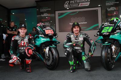 Petronas Yamaha SRT desvela sus nuevas armas en casa