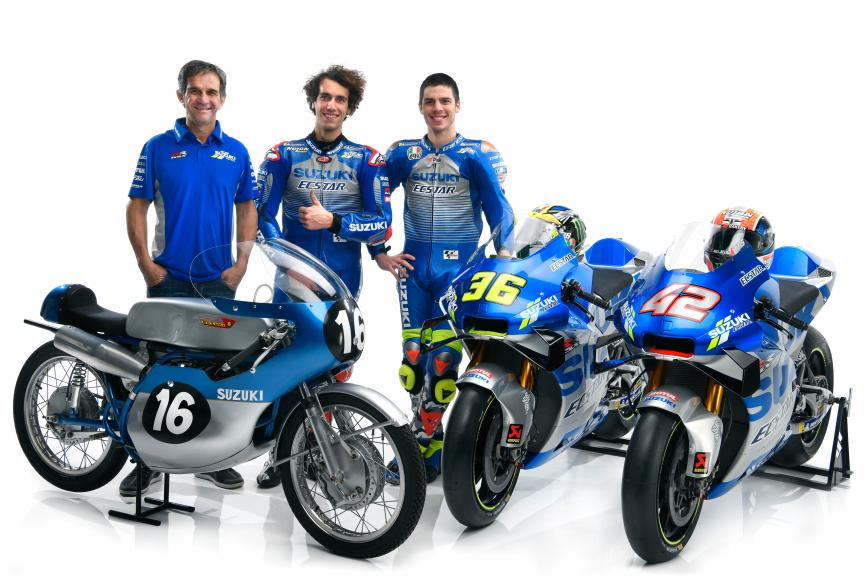 Team Suzuki Ecstar Launch 2020