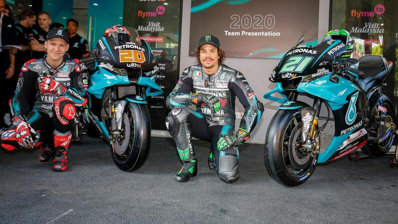 Petronas Yamaha Srt Launch 2020 Bikes On Home Turf Motogp
