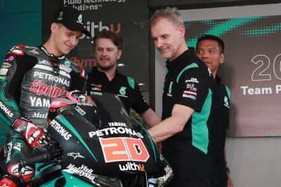 Quartararo and Morbidelli get set for lights out in 2020