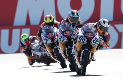 Red Bull MotoGP Rookies Cup: il calendario finale del 2020