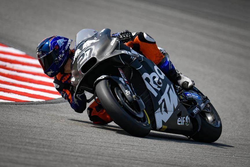 Iker Lecuona, Red Bull KTM Tech 3, Sepang MotoGP™ Official Test