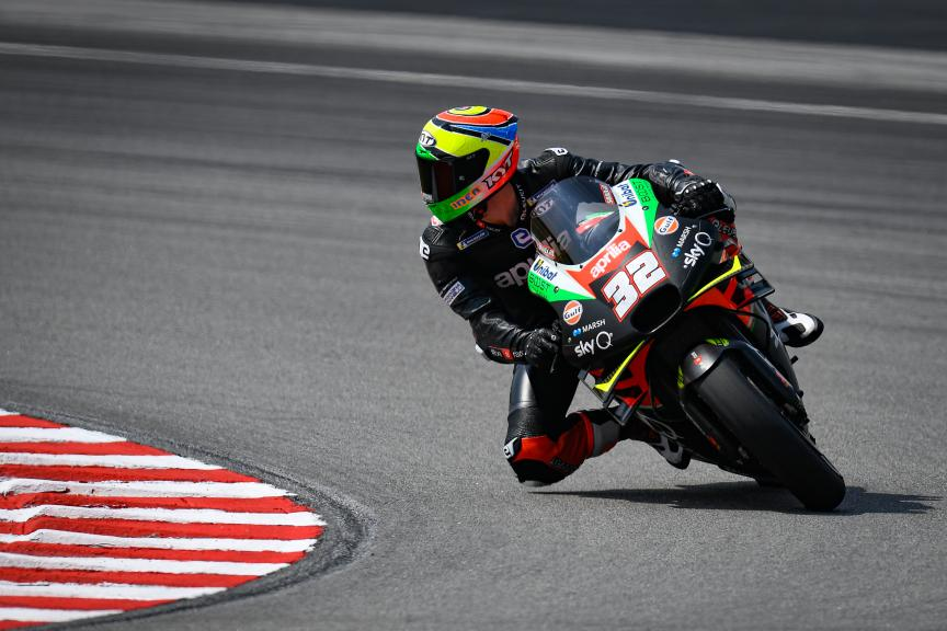 Lorenzo Savadori, Aprilia Factory Racing, Sepang MotoGP™ Official Test