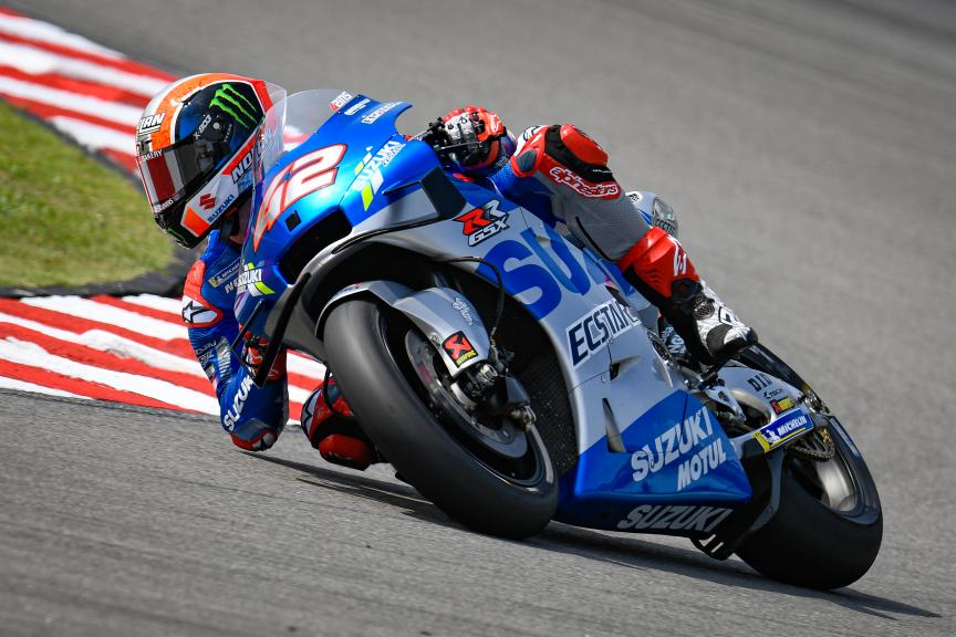Alex Rins, Team Suzuki Ecstar, Sepang MotoGP™ Official Test