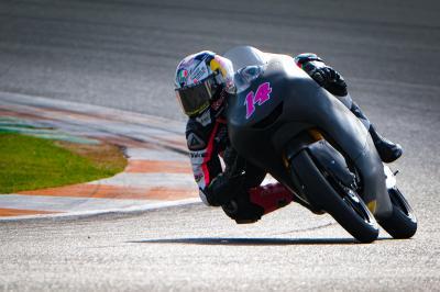 Arbolino domina i test a Valencia della Moto3™