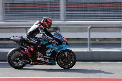 Quartararo leads Morbidelli as Sepang Test begins