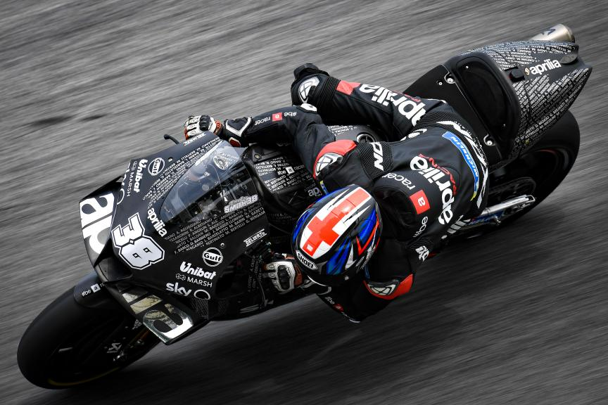 Bradley Smith, Aprilia Factory Racing, Sepang MotoGP™ Official Test