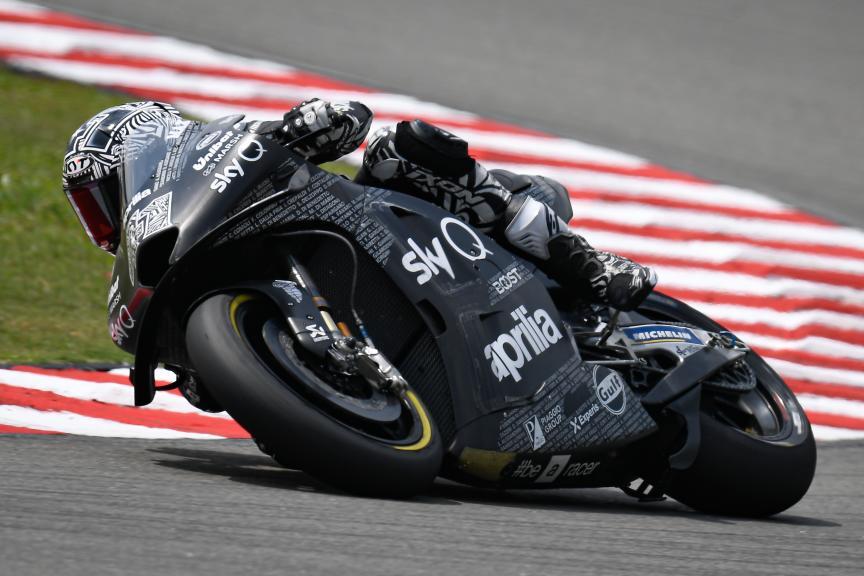 Aleix Espargaro, Aprilia Racing Team Gresini, Sepang MotoGP™ Official Test