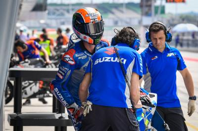 A successful Sepang Test for Suzuki