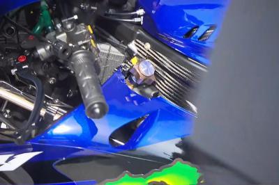 ¿Para qué sirve la misteriosa pieza nueva de la M1 de Rossi?