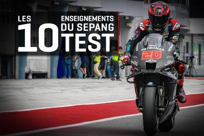 Test de Sepang 2020 : Les 10 enseignements !
