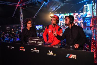 What do MotoGP™ riders think about eSports?
