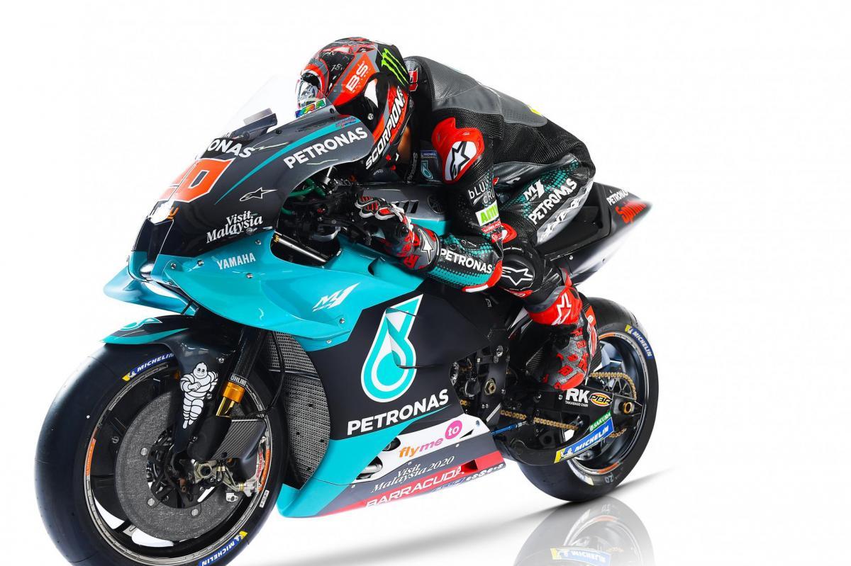 Petronas Yamaha Srt 2020 Photoshoot Motogp