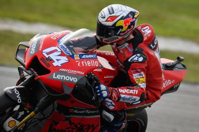 Ducati delve into their improvements at Sepang