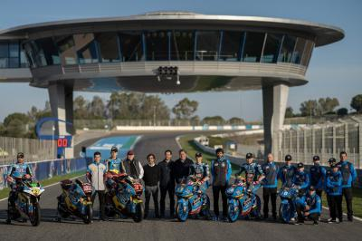 Team EG 0,0 MVDS present 2020 machines in Jerez