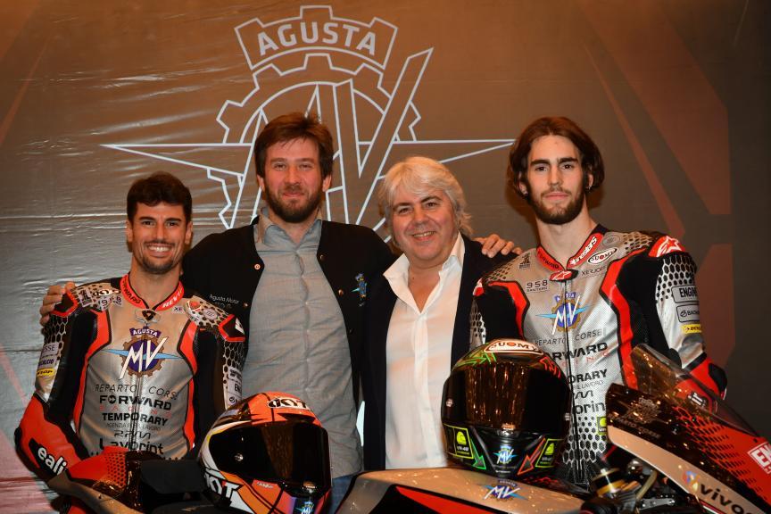 Stefano Manzi, Simone Corsi, MV Augusta Temporary Forward