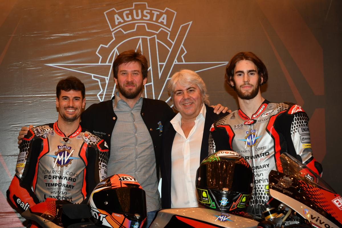 MV Agusta Forward Racing unveil 2020 Moto2™ livery
