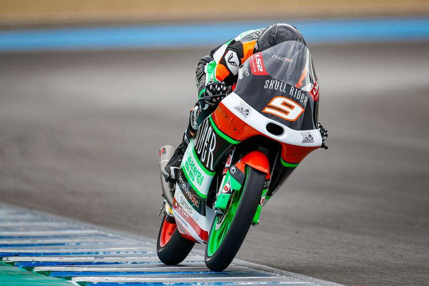 Davide Pizzoli, BOE Skull Rider Facile.Energy, Jerez Moto2™-Moto3™ Test