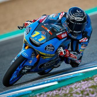 Garcia verdrängt McPhee am Mittwoch beim Jerez-Test von P1