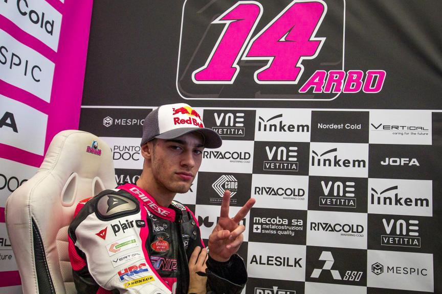 Tony Arbolino, Snipers Team, Jerez Moto2™-Moto3™ Test