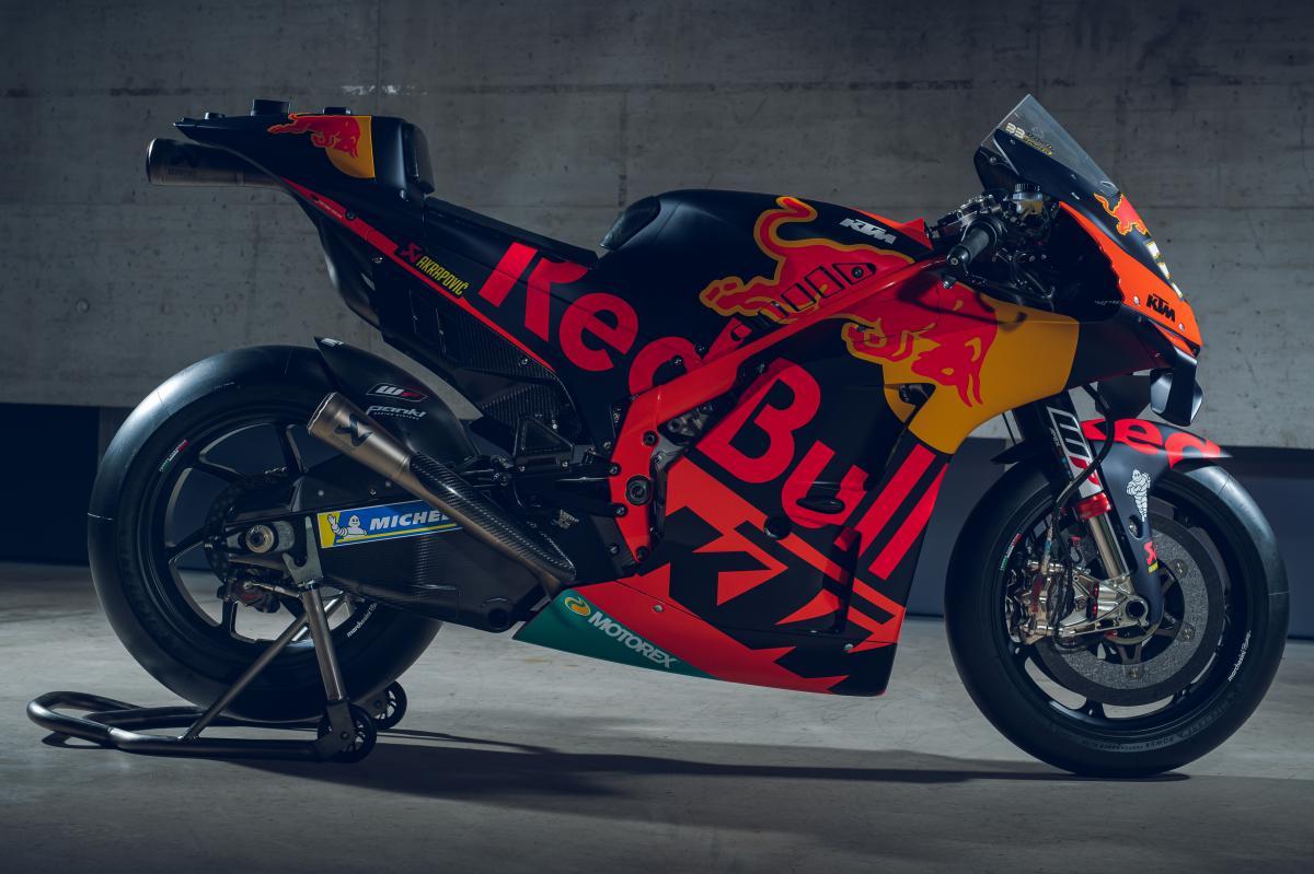 Photo Gallery Red Bull Ktm Factory Racing 2020 Bikes Motogp