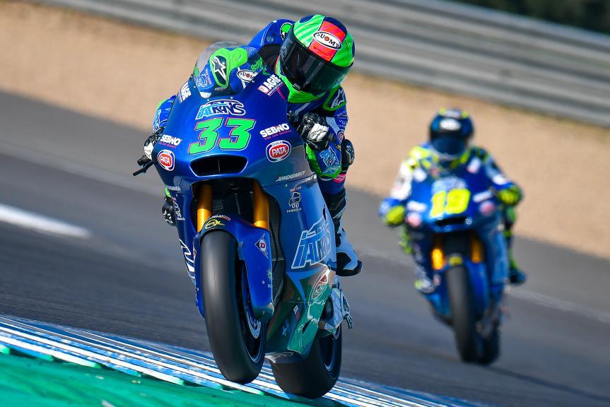 Enea Bastianini, Italtrans Racing Team, Jerez Moto2™-Moto3™ Test