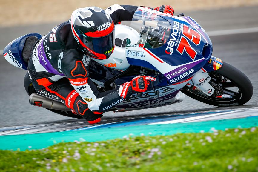 Albert Arenas, Aspar Team, Jerez Moto2™-Moto3™ Test