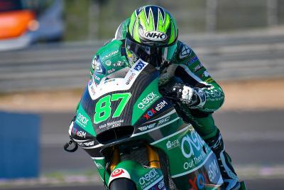 Gardner è subito il più veloce e firma il record a Jerez