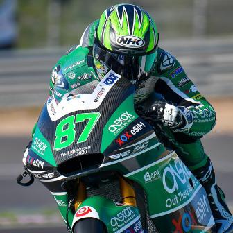 Gardner bricht am ersten Tag in Jerez den Rundenrekord