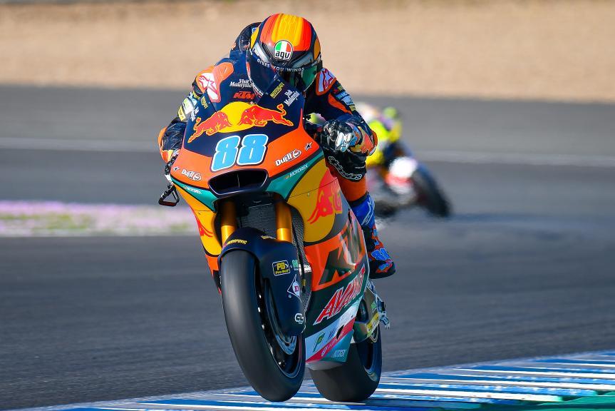 Jorge Martin, Red Bull KTM AJO, Jerez Moto2™-Moto3™ Test